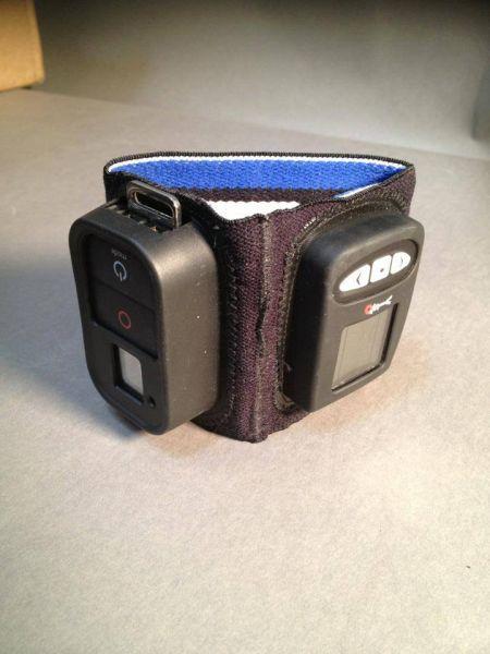 Viso II + GoPro remote elastische Handhalterung
