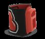 VISO II Elastic Wrist Mount RED